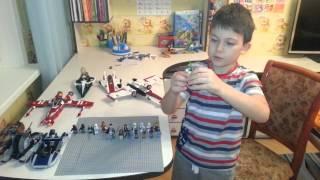 Lego. Звездные войны. Война клонов.  Часть 1