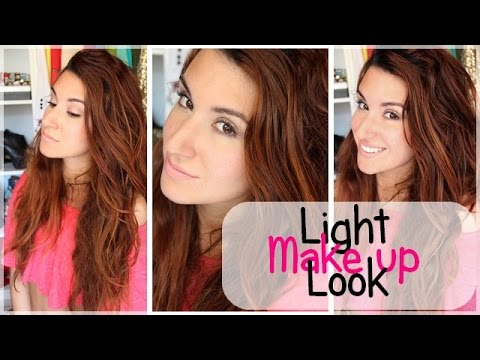 make up tutorial maquillage l ger pour le coll ge. Black Bedroom Furniture Sets. Home Design Ideas