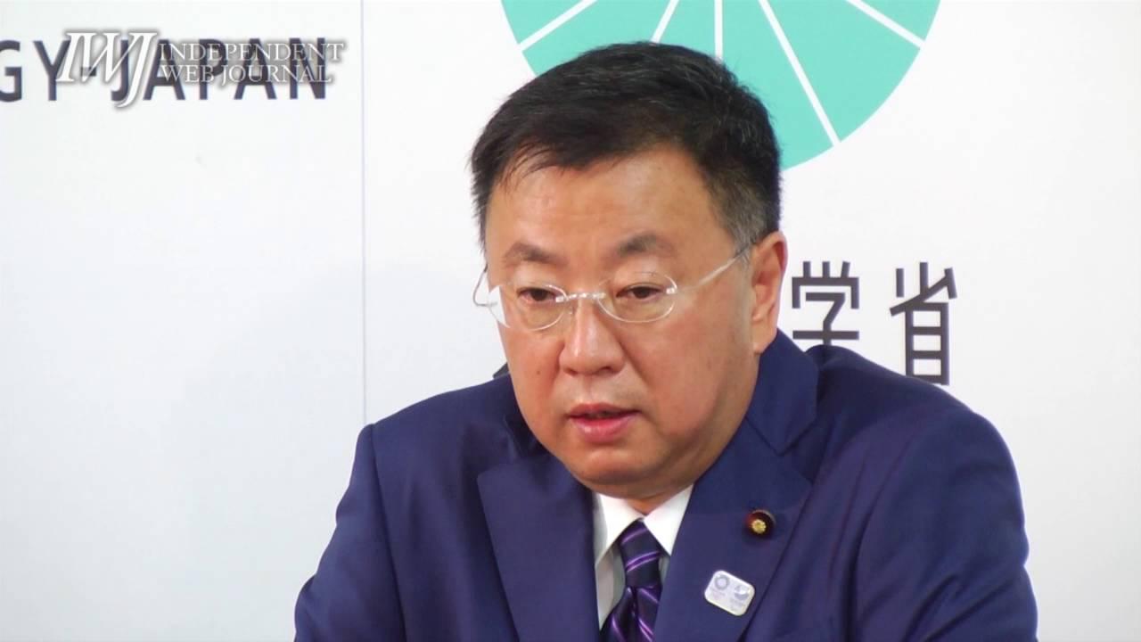 160803 松野博一 新文部科学大臣...