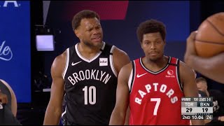 Justin Anderson Tells Kyle Lowry To Stop Flopping
