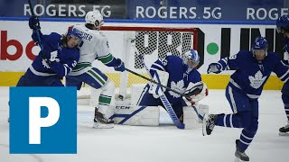 Coach Travis Green on Canucks 4-1 loss to Maple Leafs   The Province