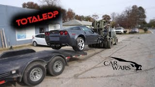 Rebuilding Wrecked 2011 Corvette Grand Sport Part 1
