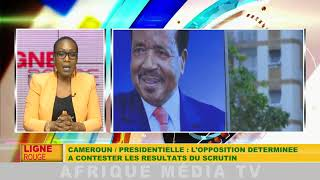 CAMEROUN / PRÉSIDENTIELLE : L'OPPOSITION DÉTERMINÉE A CONTESTER LES RÉSULTATS DU SCRUTIN.