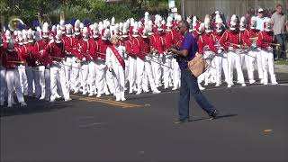 Golden Valley Cardinal Regime at the 2019 Franklin Band Review