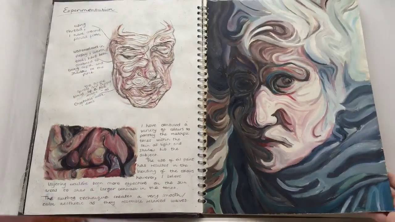 art coursework year 10