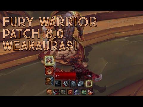 My Weakauras for Fury!