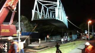 Econ Construction Limited - Surrey Canal Road Footbridge Removal