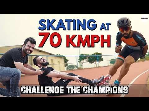 Ultimate Skating Challenge Ft. Rohit Saluja & Abhishek Thakur | Challenge The Champions