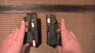 smith wessen bodyguard 380 vs ruger lcp pistol quick comperison