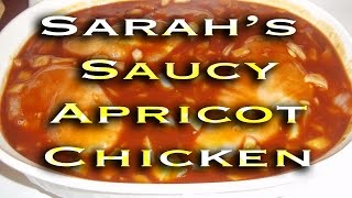 Sarah's Saucy Apricot Chicken In The Crock Pot! Tasty Tuesday #10