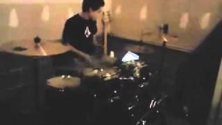 14 Year Old Drummer...just Kickin' It!