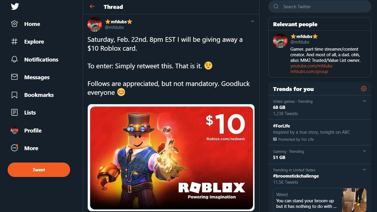 Roblox Game Card Giveaway Information And More Youtube