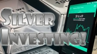 Robinhood APP -  Investing in SILVER! High RISK with HIGH REWARD!