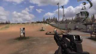 Americas Army 3 GamePlay (First Unplayable Version) Bugs and Glich