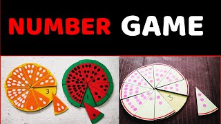 Math Number Game L Count And Match Activity Fun Games For Kids L Teach Numbers