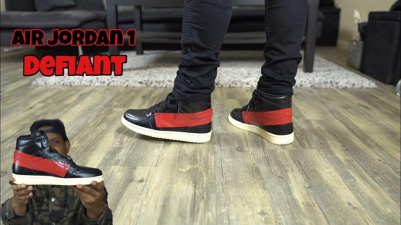 Jordan 1 Defiant / Couture On Feet