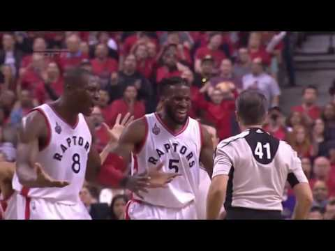 Cleveland Cavaliers vs Toronto Raptors. Game #3. PlayOff NBA 2016