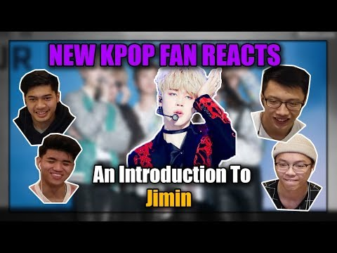 GAY KPOP FAN REACTS TO AN INTRODUCTION TO JIMIN (OurKrew Reacts)