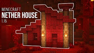 Minecraft : How to Build 1.16 Nether House