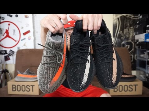 d32129e1c3b Adidas Yeezy 350 Boost V2 Black White Review   On-Feet (Which are Better )