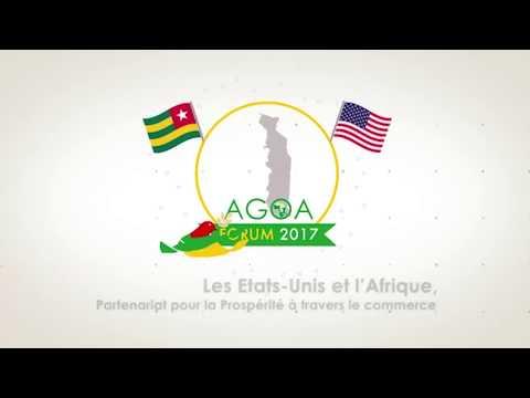 Les dividendes du forum AGOA 2017 pour le Togo