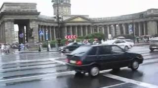 Ларуссия  Туры в Питер  Город после дождя   City after a rain