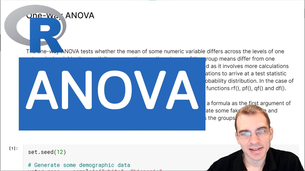 Introduction to R: ANOVA
