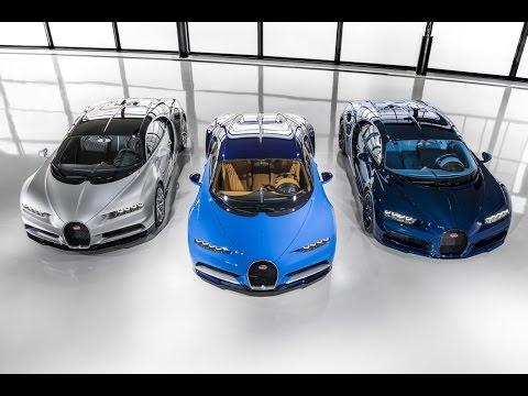 """""""Tenga señor, aquí está su Bugatti Chiron. Disfrute del fin de semana"""""""