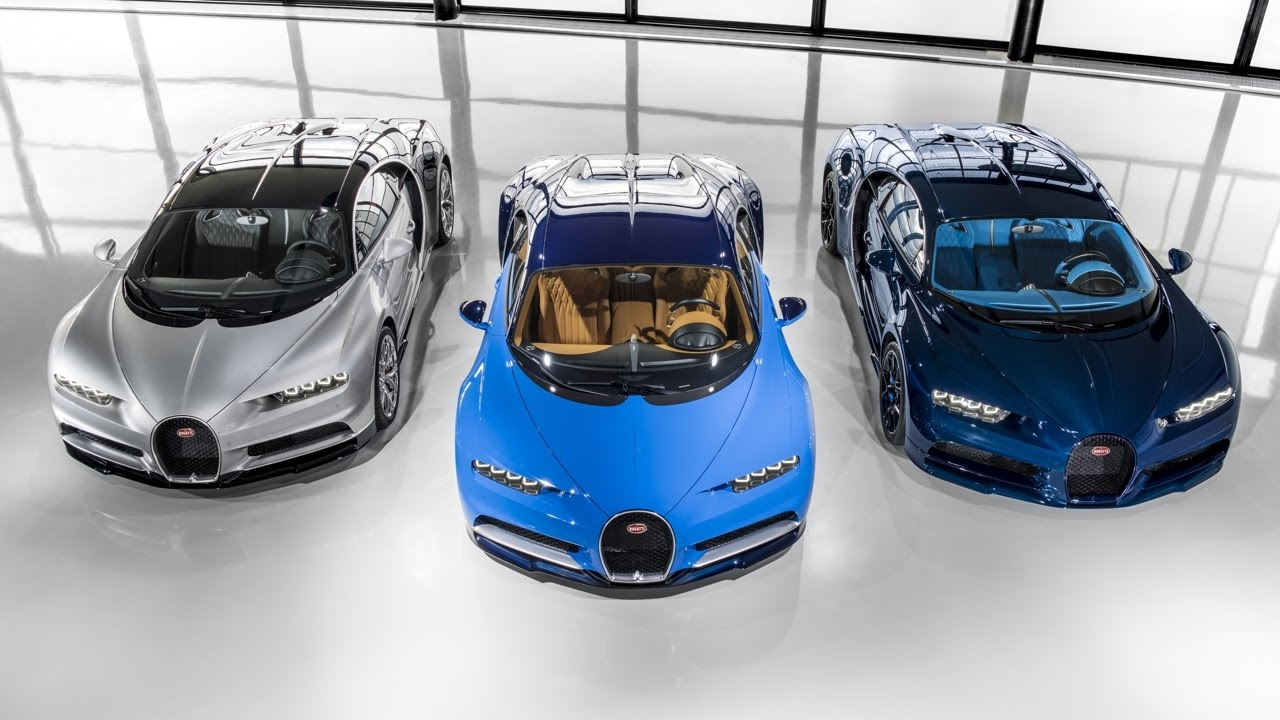 First Chiron customer cars leave the Bugatti Atelier #MolsheimDreamFactory