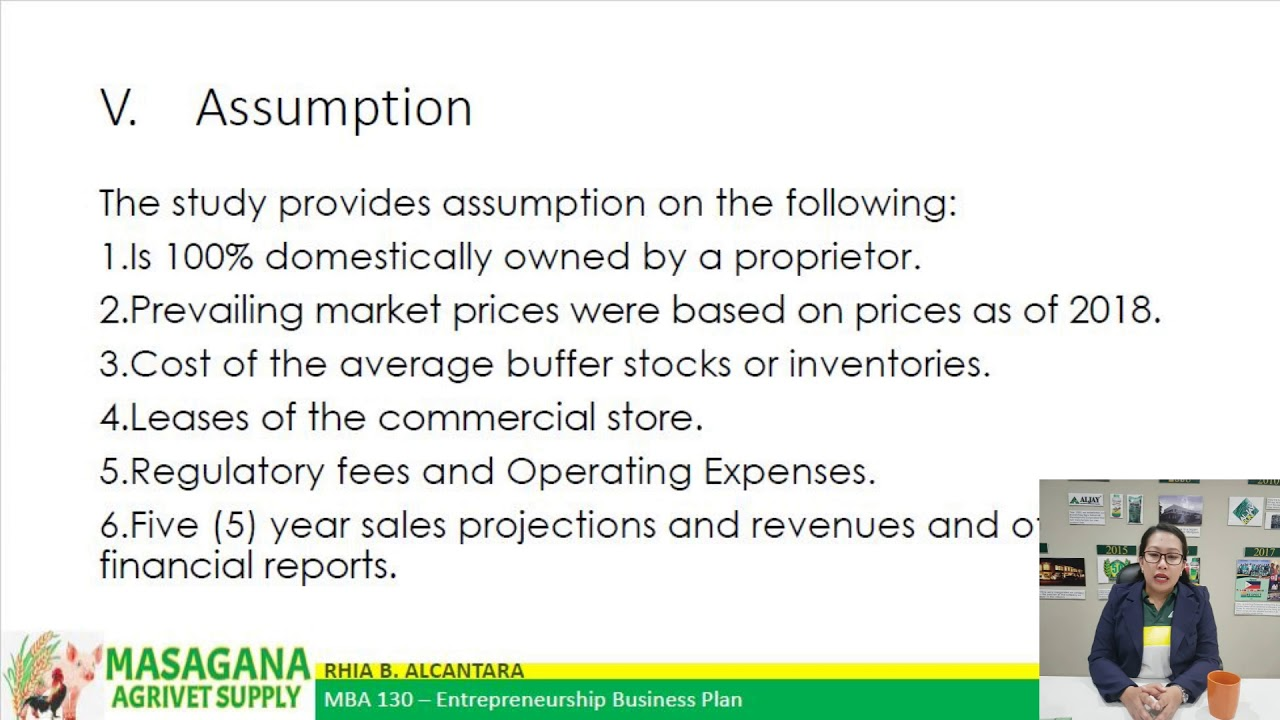 agricultural supply business plan philippines
