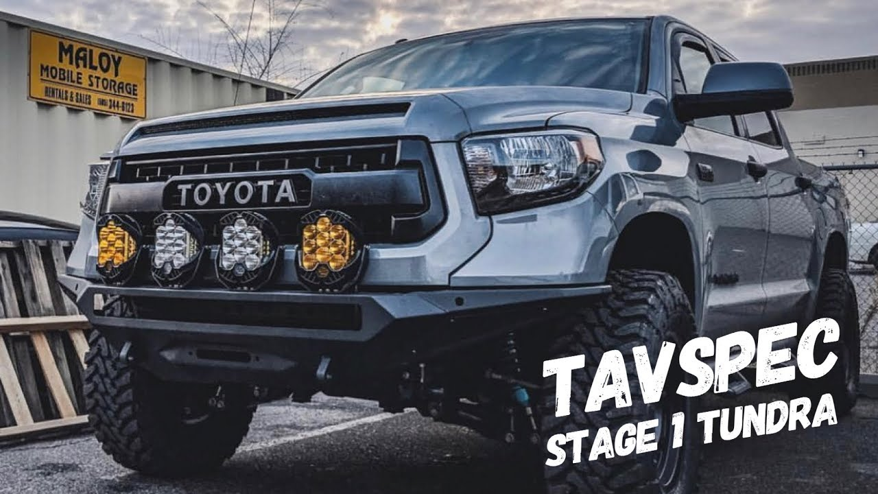 Killer Off-Road/Tow Rig Combo, The TAVSPEC Stage 1 Tundra