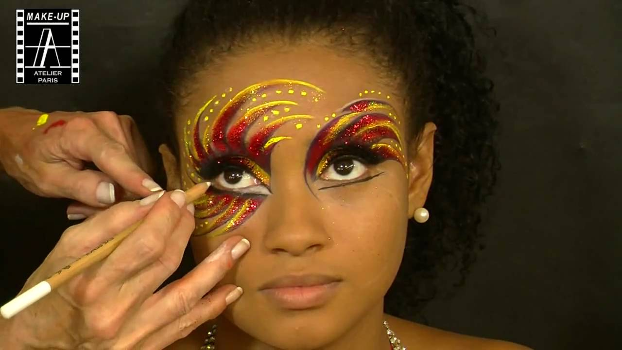 maquillage professionnel carnaval