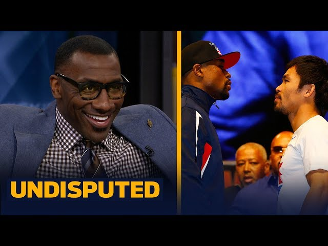 I believe theres an 80% chance Mayweather-Pacquiao will fight again — Shannon Sharpe | UNDISPUTED