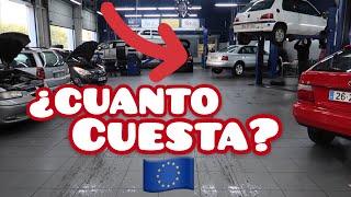 ESTO CUESTA MANTENER UN AUTO EN EUROPA 😨💶