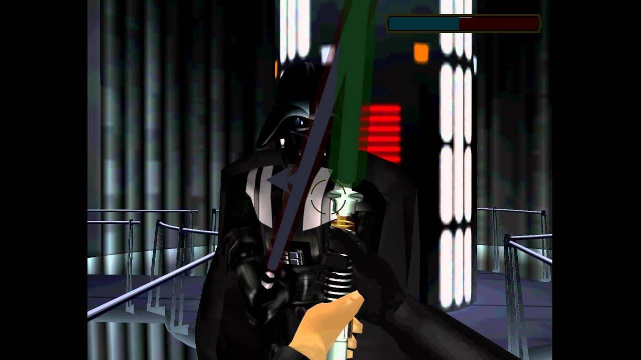 Darth Vader Lightsaber Duel Sw Trilogy Arcade 1080p
