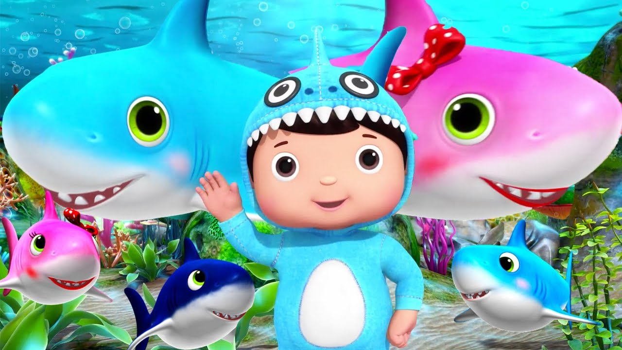Baby Shark | + More Nursery Rhymes & Kids Songs | Little Baby Bum | Educational Songs for Toddle