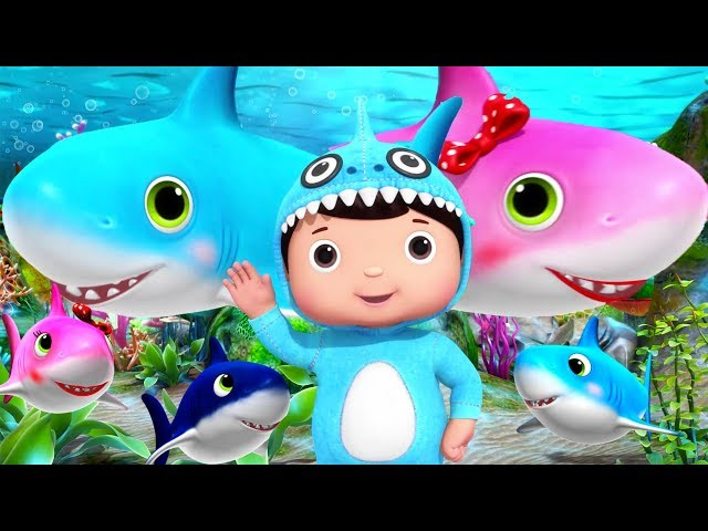 Baby Shark | + More Nursery Rhymes & Kids Songs | Little Baby Bum | Educational Songs for Toddlers