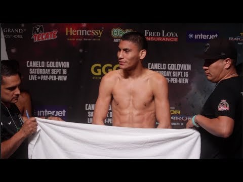 EMBARRASSING!! VIRGIL ORTIZ FORCED TO STRIP TO MAKE WEIGHT AS TEAM HOLD TOWELS / CANELO v GOLOVKIN
