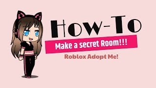 How to make a SECRET ROOM in Adopt me!--Roblox with Itz_Maira!