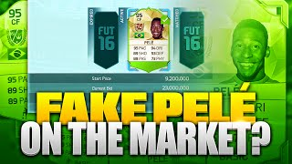FAKE PELE ON THE MARKET?