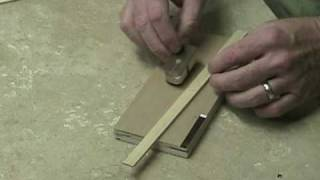 Wood Working Mini Plane Instructions