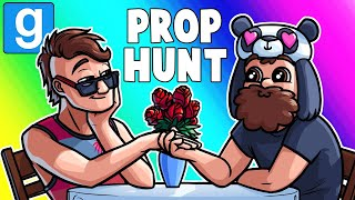 Gmod Prop Hunt Funny Moments - The Valentines Gas Station