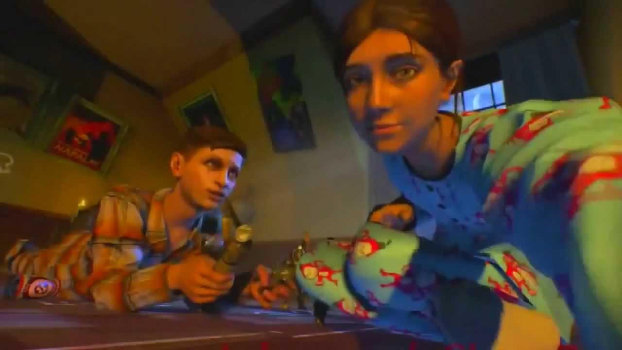 """ORIGINS"""" Ending Cut Scene! Samantha & Richtofen? - YouTube"""