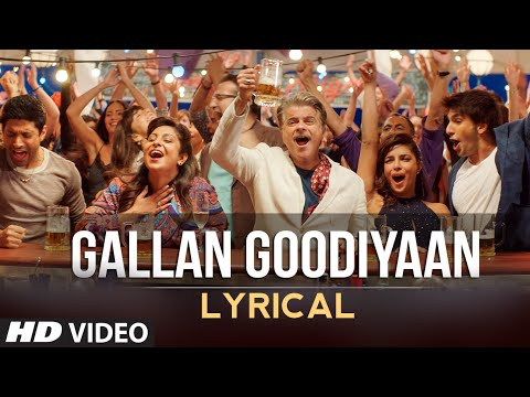 'gallan Goodiyaan' Full Song With Lyrics  Dil Dhadakne Do  T-series
