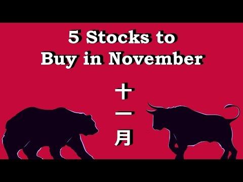 5 Stocks to Buy in November