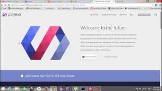 Free Phonegap + Android Material Design using Polymer - Configure Polymer Project in Windows PC - 3