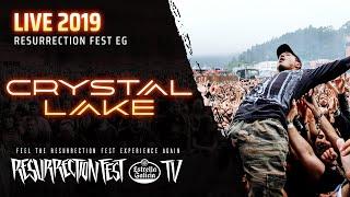 Crystal Lake - Live at Resurrection Fest EG 2019 (Viveiro, Spain) [Full Show, Pro-Shot]