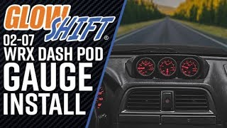 GlowShift | How To Install A Subaru WRX and STI Dash Pod With Gauges -  YouTube | Wrx Glowshift Wiring Diagram |  | YouTube