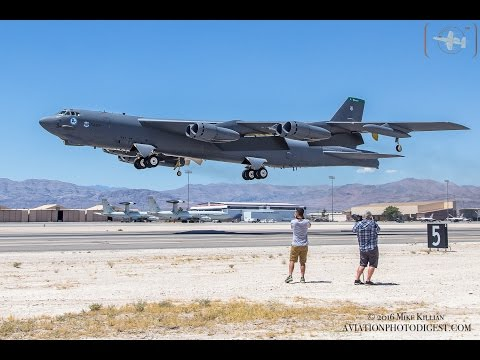 On The Flight Line for Red Flag 16-3 / Nellis AFB (1080 HD)