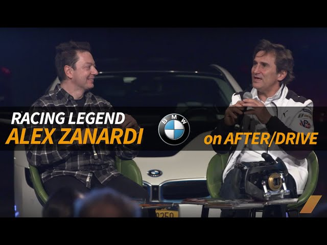 Alex Zanardi INTERVIEW Racing Daytona, BMW M8, and THE PASS -- AFTER/DRIVE